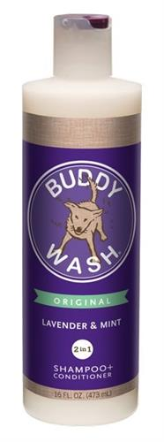 Buddy Wash 2-in-1 Shampoo + Conditioner Lavender & Mint 16 Oz.