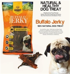 Advance Pet Products Buffalo Jerky 3.52 oz. Bag