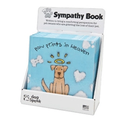 Paw Prints in Heaven - Sympathy Book Display