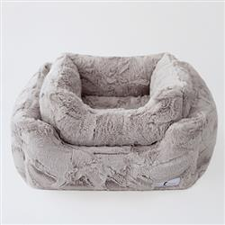 Luxe Dog Bed: Taupe