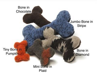 Bone Plush Dog Toy