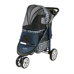 Gen7Pets® Monaco™ Dress Blues Pet Stroller