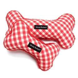 Gingham Bone Toy