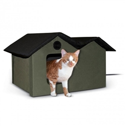 Extra-Wide Outdoor Kitty House (Unheated)