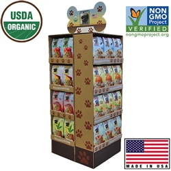 Wet Noses Shipper: Complete Display Unit
