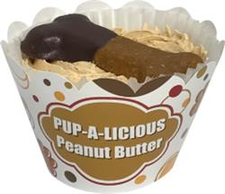 Everyday PB Cupcakes