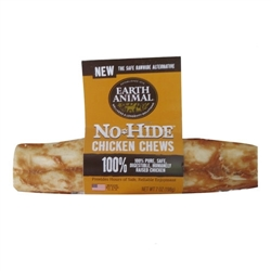 "Earth Animal No Hide Chicken Chews Dog Treats, 7"" (24 counter box REFILL )"