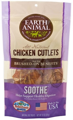 Earth Animal Soothe Chicken Cutlets 8oz