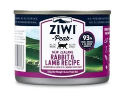 ZiwiPeak Daily-Cat Cuisine Rabbit & Lamb Canned Cat Food 6.5oz case of 12