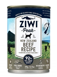 ZiwiPeak Daily-Dog Beef Cuisine Canned Dog Food, 13.75-oz, case of 12