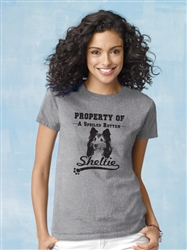 """""""Property Of"""" Sheltie - 2-Pack of T-Shirts"""
