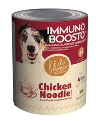 Immuno Boosto: Chicken Noodle Soup: Dog Gas Remedy