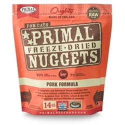 Primal Pet Foods Freeze Dried Cat Food Pork Formula