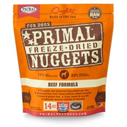 Primal Pet Foods Freeze Dried Food For Dogs 5.5 oz - Beef