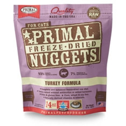 Primal Pet Foods Freeze Dried Food For Cats - Turkey