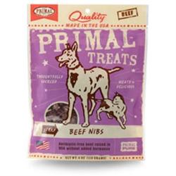 Primal Jerky Beef Nibs Dog & Cat Treats 4 oz