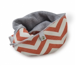 Colorblock Infinity Scarf - chevron