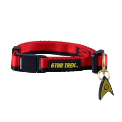 Star Trek Cat Collar: The Original Series™ Red Uniform