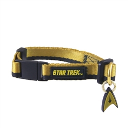 Star Trek Cat Collar: The Original Series™ Gold Uniform