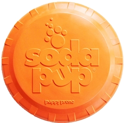 SodaPup Bottle Top Flyer Small  - Orange Squeeze