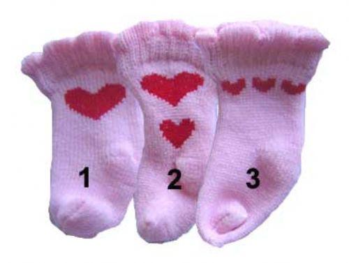 Heart Pink Socks