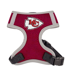 Kansas City Chiefs Dog Harness Vest