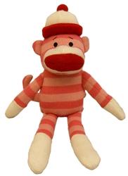 Lulubelles Power Plush - Pearl Sock Monkey