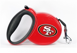 San Francisco 49er's Retractable Leash