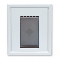 Panel Pet Door Insert, White **No Retail Packaging**
