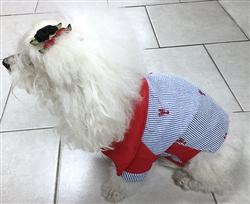Red Lobster Cotton Seersucker Polo