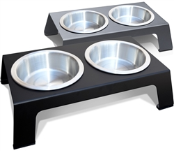 Raised Pet Feeder, Anodized Aluminum (Case of 3) $29.95 each