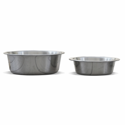 Premium Brushed Stainless Steel Bowl (Case of 10)