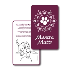 Mantra Mutt Wisdom Cards