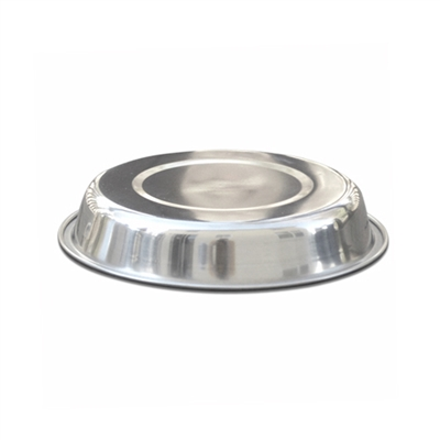Premium Brushed Stainless Steel Bowl - Cat Dish (Case of 10)