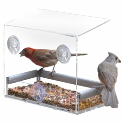 Tranquility Window Bird Feeder (Case of 4)