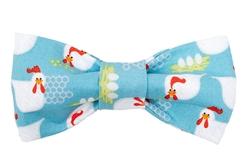 Bow Tie - Blue Chicken