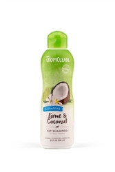 TropiClean Lime and Coconut Dshedding Shampoo, 20oz
