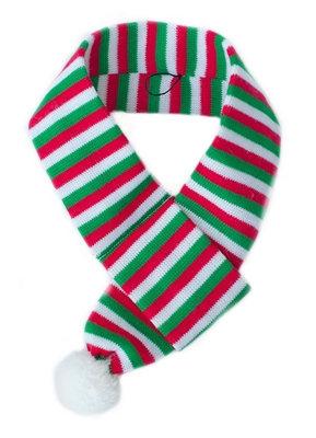 ZippyPaws Holiday Scarf Red/Green