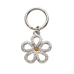 Open Clear Flower Unity™ Pet Charm