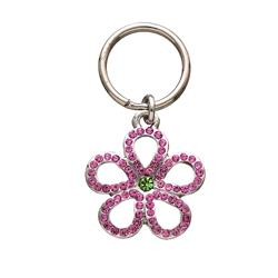 Open Pink Flower Unity™ Pet Charm
