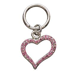 Open Pink Heart Unity™ Pet Charm