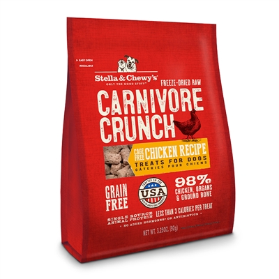 Stella and Chewy's Carnivore Crunch - Chicken (3.25 oz.)