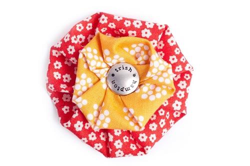 Blossom - Red/Orange Dots