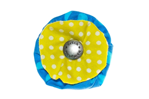 Blossom - Blue/Citrus Dots