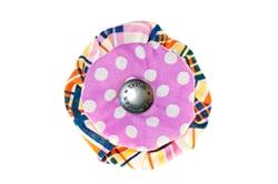 Blossom - Plaid/Pink Dots