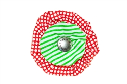 Blossom - Red/Green Stripe
