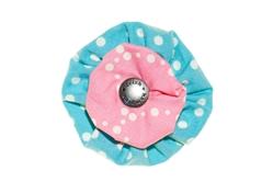 Blossom - Aqua/Pink Dots