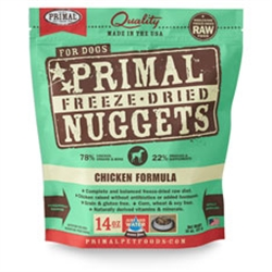 Primal Pet Foods Freeze Dried Food For Dogs 14 oz - Chicken
