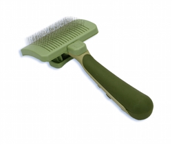 Safari® Cat Self-Cleaning Slicker Brush