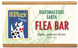 Flea Shampoo Bar - Organic with Diatomaceous Earth from DERMagic